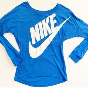 Nike Large Logo Long Sleeve Top